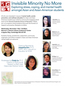 Panel Explores Mental Health, Asian American Culture