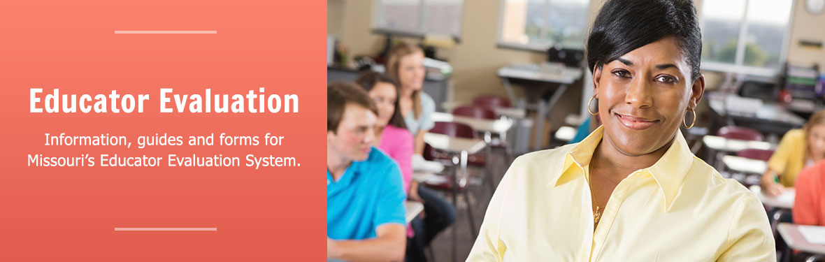 Department of Elementary and Secondary Education Educator Evaluation