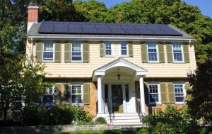 Today's rooftop solar installations blend right in!