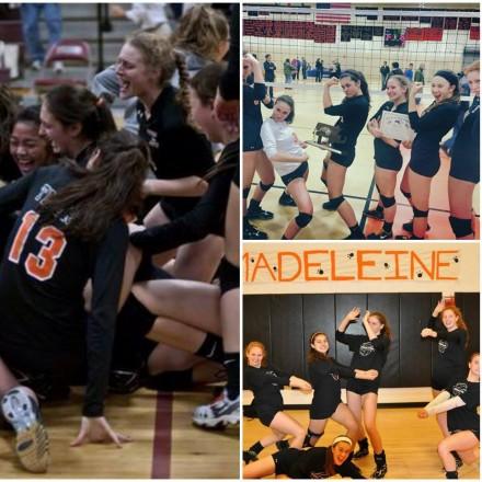 Newton North High School Women's Volleyball state champions