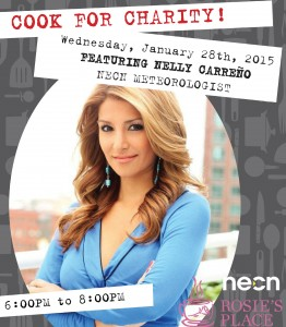 Nelly Carreño Celebrity Chef at COOK Restaurant