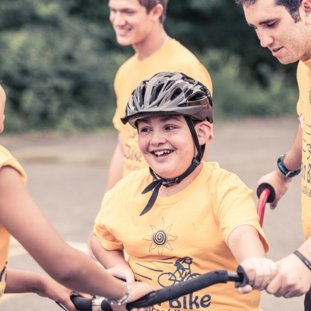Bike Camp for Children with Disabilities in Concord