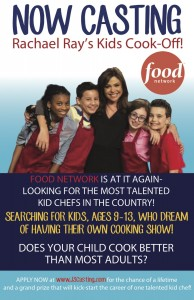 Now Casting Culinary Kids for Racheal Ray Show
