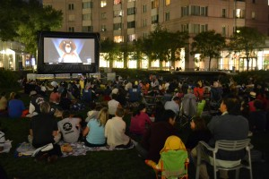 Free Outdoor Movies at the Pru
