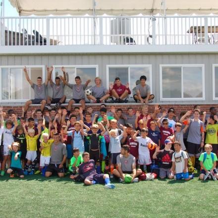 Boys Soccer Clinic at Harvard