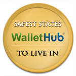 Massachusetts is safest state to live in