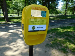 FREE Sunscreen for Boston's Public Parks