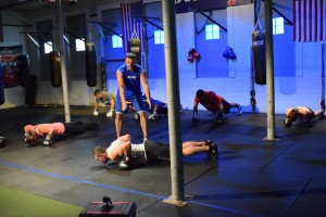 Eric Busa Boxygen workout