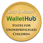 2015′s Best and Worst States for Underprivileged Children