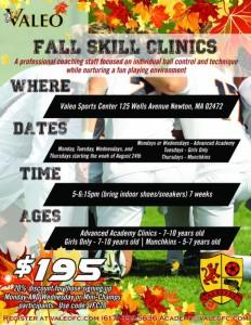 Valeo Fall Skills Clinic