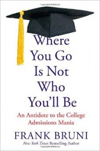 College Admissions Book Talk