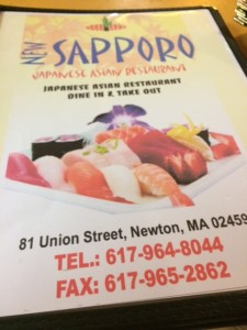 Sapporo Restaurant Newton Centre Korean and Japanese food