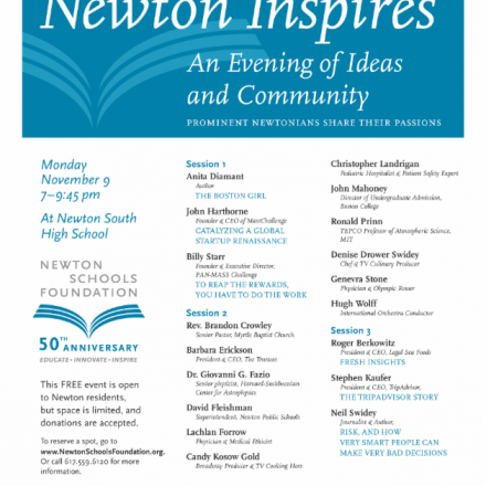 Be Inspired at Newton Inspires