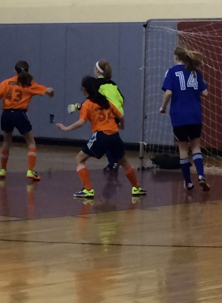 winter soccer for kids in Newton MA