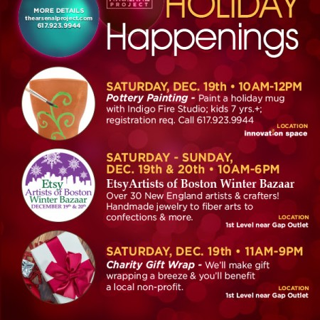 Holiday Happenings at Arsenal Project