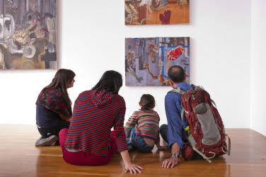 FREE Family Day at Mass College of Art and Design Exhibition