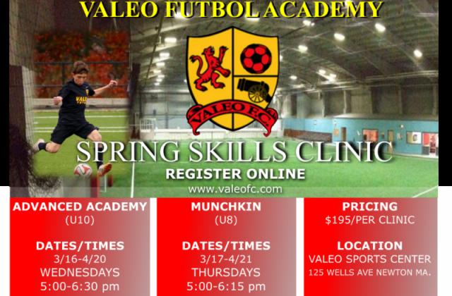 Valeo Spring Skills Clinics