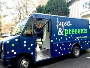 First Stationery Boutique on Wheels at The Street