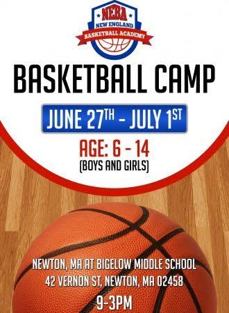 Boston Bobcats: NEBA Basketball Camp DATES: June 27 – July 1