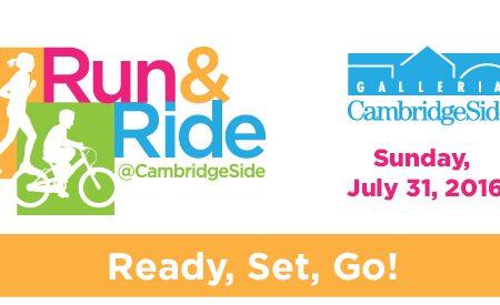 Run & Ride at CambridgeSide