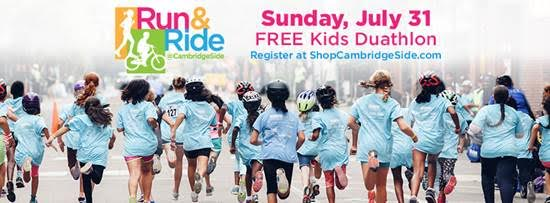 Run & Ride at CambridgeSide KIDS ONLY!