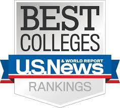 MA College Rankings: U.S. News & World Report