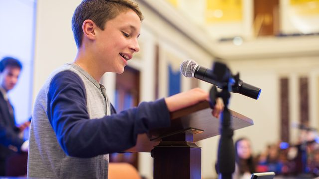 Visit Edward M. Kennedy Institute: Kids FREE