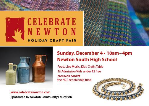 Celebrate Newton Holiday Craft Fair at NSHS