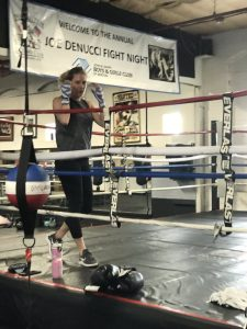 Dena Dina Nonantum Boxing Club trainer