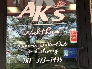 Ak's near Brandeis