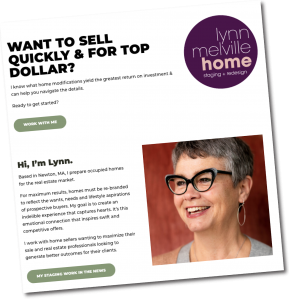 Announcing Lynn Melville Home Staging + Redesign!
